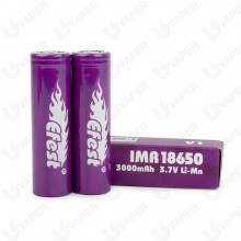 Efest IMR 18650 3000MAH 2-pack Batteries